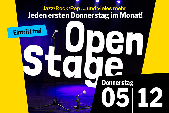 OPEN STAGE # 60 (Donnerstag, 05.12.2019)