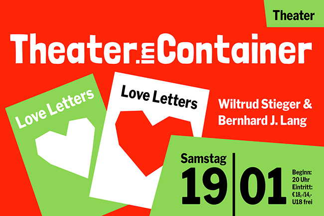 LOVE LETTERS (Samstag, 19.01.2019)